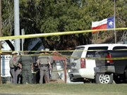 Condolences to President Trump over Texas shooting