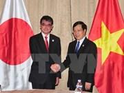 APEC 2017: Deputy PM Minh meets Japanese FM, WEF Director