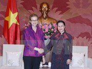 NA Chairwoman receives new UNDP Country Director for Vietnam