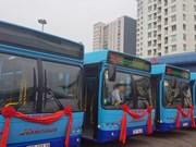 Hanoi pilots European-standard buses