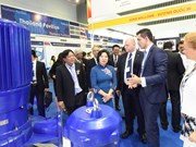 Int'l water, energy exhibitions open in HCM City