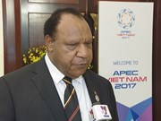 APEC 2017: Vietnam's hosting good experience for Papua New Guinea