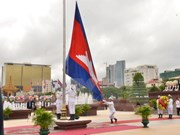 Cambodia celebrate 64th Independence Day