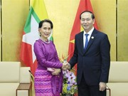 APEC 2017: President welcomes Myanmar State Counsellor