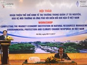 Market economy institution crucial for climate change response