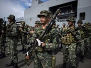 Philippine army clash with Abu Sayyaf