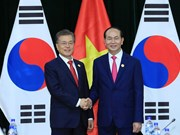 APEC 2017: President Tran Dai Quang meets with RoK President