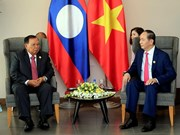 APEC 2017: Vietnamese President meets with top leader of Laos