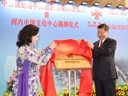 Vietnam-China Friendship Palace debuts in Hanoi