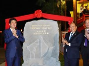 PMs launch Vietnam-Japan cultural space in Hoi An ancient town