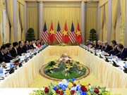 Measures to develop Vietnam-US relations talked