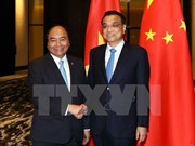 Vietnamese, Chinese prime ministers hold meeting in Manila