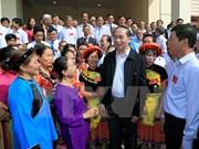 President Tran Dai Quang joins national solidarity festival