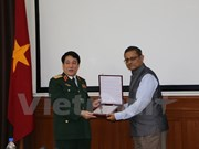 Vietnam tightens defence ties with India