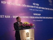 Vietnam looks to boost cooperation with WEF in infrastructure