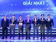 Awards honour Vietnamese talents nationwide