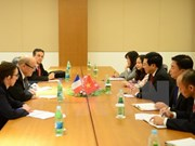 ASEM FMs' Meeting: Deputy PM meets foreign ministers