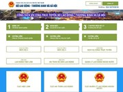 MoLISA inaugurates public services portal