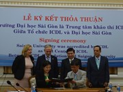 Sai Gon University accredited as first ICDL centre in HCM City