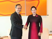 NA Chairwoman begins official visit to Singapore