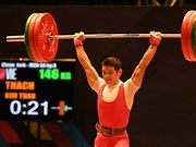 Vietnam to compete in US weightlifting champs