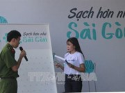 Environmental sanitation campaign launched in HCM City