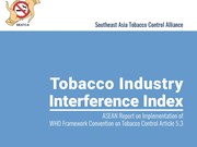 ASEAN on red alert over high rate of tobacco industry interference