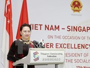 Vietnam encourages Singaporean investments: NA Chairwoman