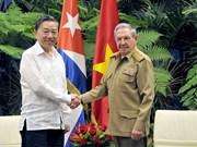 Vietnam, Cuba steps up security cooperation