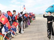 Vietnam's top legislator begins official visit to Australia
