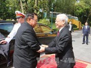 Congratulations to Lao leaders on National Day