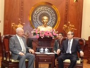 HCM City leader meets Russian ambassador