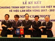 Vietnam, ILO sign cooperation pact on sustainable employment