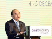 PM attends int'l exhibition on Smart Industry World 2017