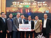 Flood victims in Thua Thien - Hue receive support