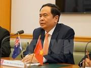 VFFCC President meets RMIT leader in Australia visit