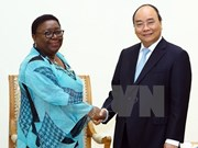 Prime Minister Nguyen Xuan Phuc receives Liberian foreign minister