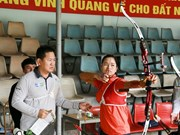 Korean experts train Vietnamese archers