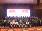 Vietnam, China review border drug crime crackdown campaign