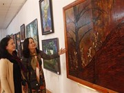 Fine art exhibition features Central Highlands land, people