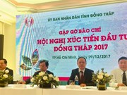 Dong Thap to host investment promotion conference
