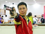 Vietnam earns bronze at Asian air pistol champs