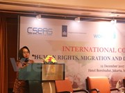 Conference talks migration for employment in Indonesia