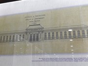 Exhibition showcases old documents on French culture