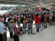 Bangkok airport infrastructure fails to meet traffic demand