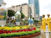 HCM City: Nguyen Hue flower street to celebrate Lunar New Year