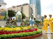 HCM City: Nguyen Hue flower street to celebrate Lunar New Year