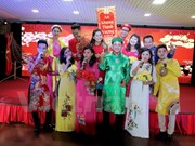 Vietnamese people in Russia celebrate New Year