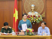 Top legislator examines Khanh Hoa's socio-economic performance