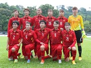 VN's female football team fall in rankings